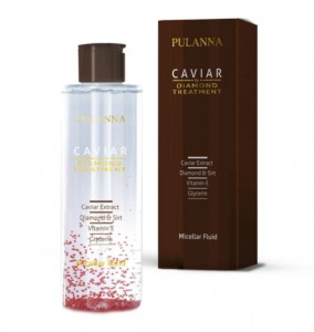 Płyn micelarny do demakijażu CAVIAR & DIAMOND Pulanna, 200 ml