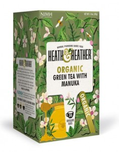 Herbata ekologiczna Green Tea & Manuka Heath & Heather