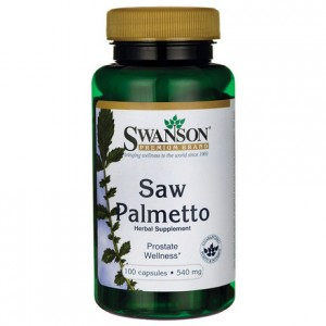 Saw Palmetto Swanson 540mg 100 kaps