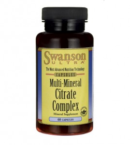 Multi Mineral Citrate Complex Swanson 60kaps