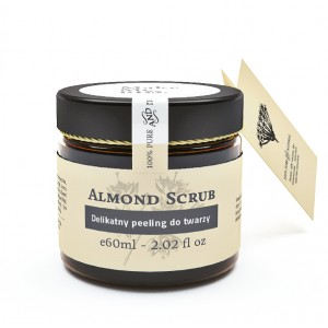 Almond Scrub - migdałowy peeling do twarzy Make Me Bio 60ml