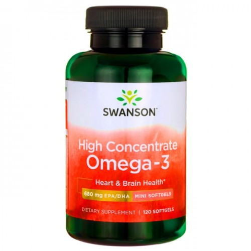 Omega-3 Swanson High Concentrate MEG-3